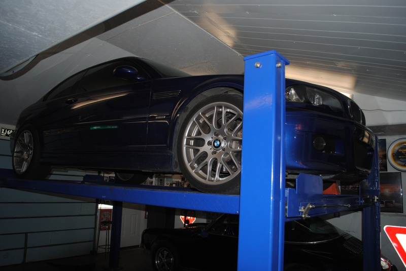 M3 ZCP in for driveline issues