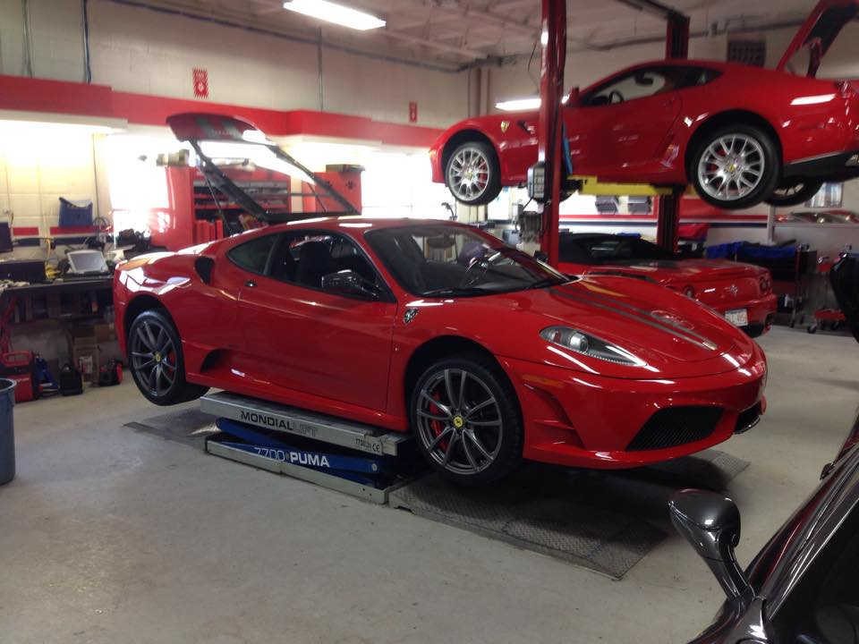 At Ferrari of Alberta to Inspect a F430 Scuderia for a customer